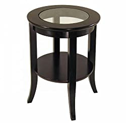Winsome Wood 92218 Genoa Occasional Table, Espresso by Winsome Wood