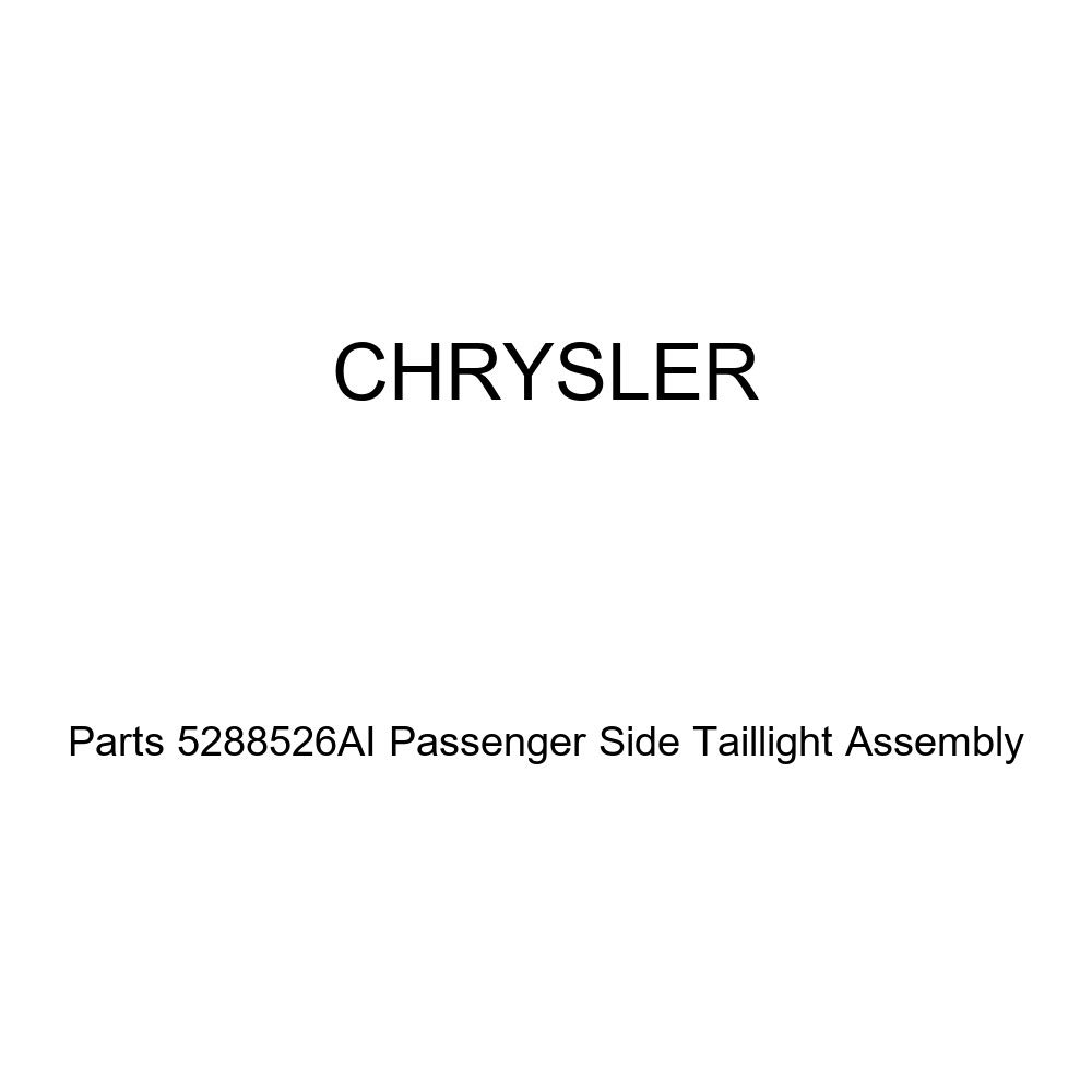 Genuine Chrysler Parts 5288526AI Passenger Side Taillight Assembly