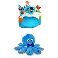 Baby Einstein Rhythm of The Reef Activity Saucer &  Baby EinsteinOctoplush Plush Toy