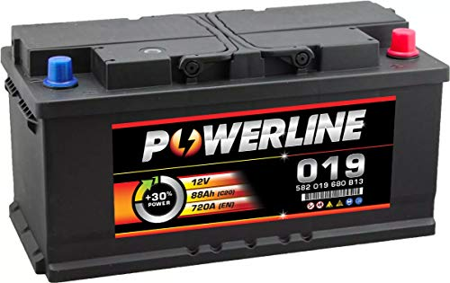 019 Powerline Car Battery 12V: