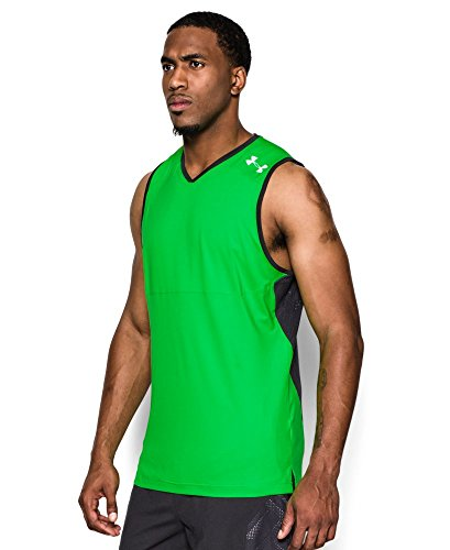 Under Armour Men's UA Undeniable Tank Large GREEN ENERGY