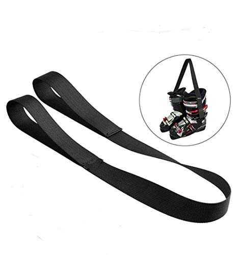 Ski and Snowboard Boot Carrier Strap/Skates - Roller Skate Leash/Fashionable Transport Strap for Skates/Shoulder Sling Leash Also for Ice Skates & Rollerblades/Equipment Accessories for Bag