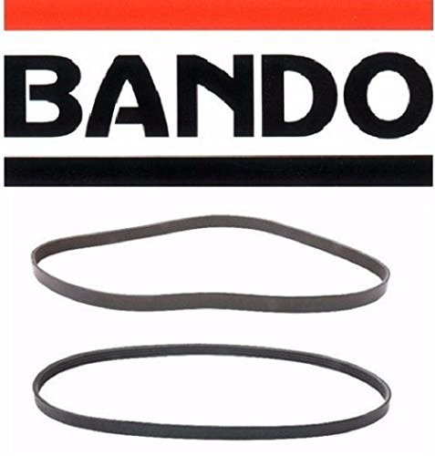 BANDO Accessory Drive Belt Kit Subaru Outback 2.5L four cylinder 2006-2009 Alternator-Air Conditioner-Power Steering Belt Set(2 belts)BANDO 4PK845 5PK875 Accessory Serpentine Drive Belt Set for Pulley