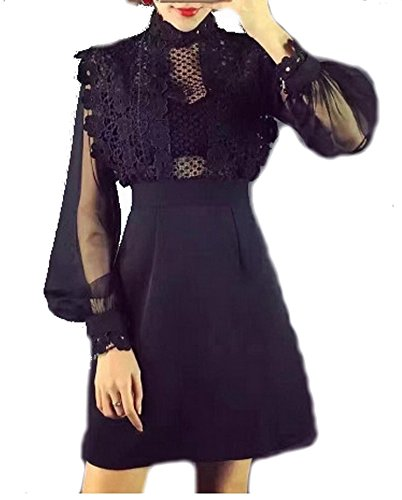 celebritystyle-black-crochet-lace-sheer-slv-dress-s-black5