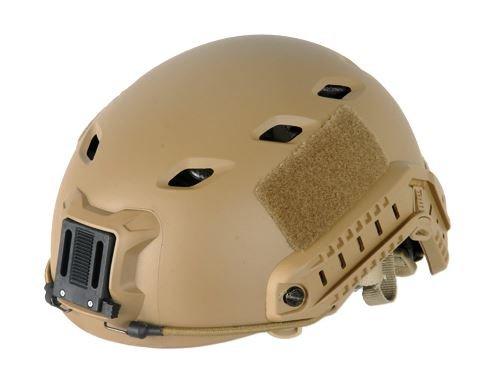 Lancer Tactical CA-334T FAST NVG Airsoft Helmet, Tan