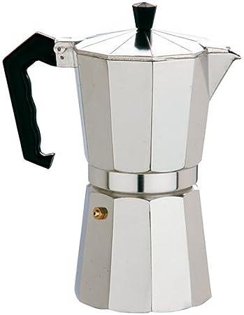 ALZA Cafetera Exprés Aluminio 12 Tazas: Amazon.es: Hogar