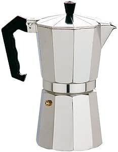 ALZA Cafetera Exprés Aluminio 9 Tazas: Amazon.es: Hogar