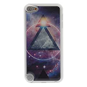 HP DFMystery Design Metal Triangle Pattern Epoxy Hard Case for iPod Touch 5