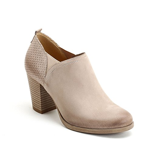 Elastics Sides Scarpe Leather Heel Ankle Boots Alesya with Heeled in The Dove 8 Height amp;Scarpe cm High Grey on 0q7wvp