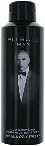 Pitbull Body Spray for Men, 6 Ounce