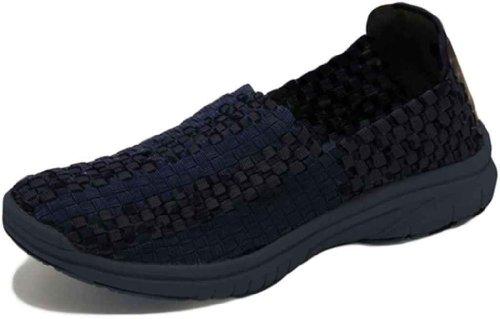 Step-inz Ultrastepinz Textil Para Mujer Tejido Paso En Zapato Negro En B