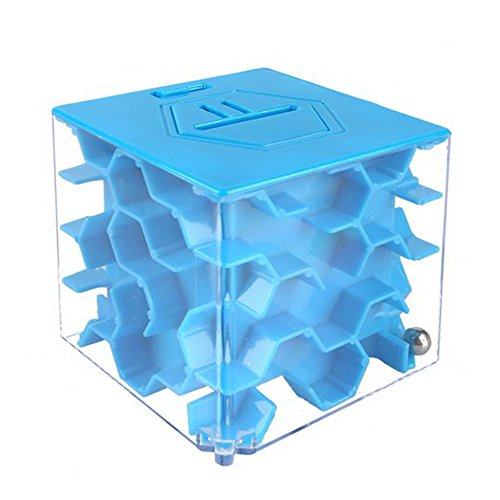Sainsmart Jr  Amaze Cb 23 Cube Maze Money Bank  Blue   Black Friday Deals