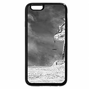 iPhone 6S Case, iPhone 6 Case (Black & White) - Winter