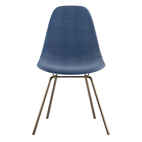 NyeKoncept 331006CL2 Mid Century Classroom Side Chair, Dodger Blue from NyeKoncept