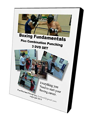 KHE Learn How to Box, 3 DVD Instructional Set, Includes Combination Punching, and Boxing Basics, Also Good for MMA