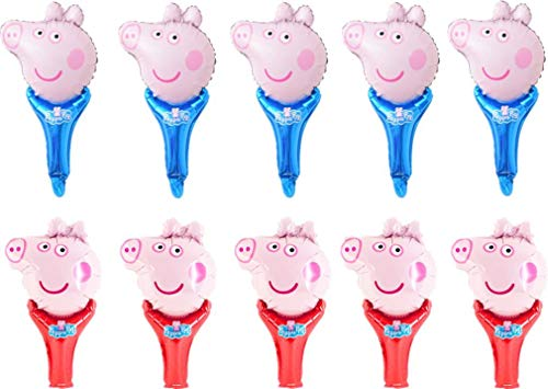 Peppa Pig Balloons Pack of 10 George Pig