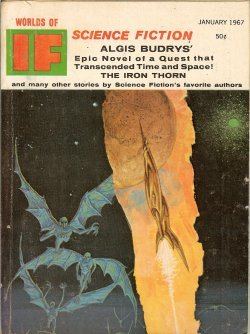 IF Worlds of Science Fiction: January, Jan. 1967 (