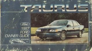 1987 ford taurus owners manual ford amazon com books rh amazon com 2000 Ford Taurus 2016 Ford Taurus