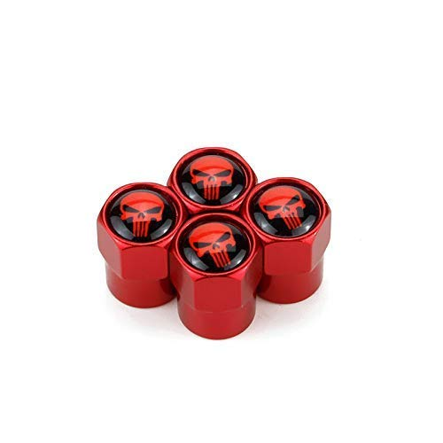- TK-KLZ 5Pcs Skull Logo Car Wheel Tires Valve Stem Caps for Jeep Toyota Honda BMW Ford Chevrolet Nissan Subaru VW Mustang Corvette Volvo Audi Decoration Accessories