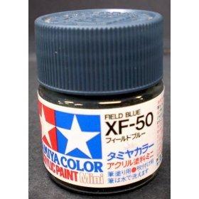 アクリルミニ XF-50 フィールドブルー