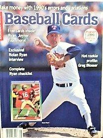 Baseball Cards Magazine, August 1990