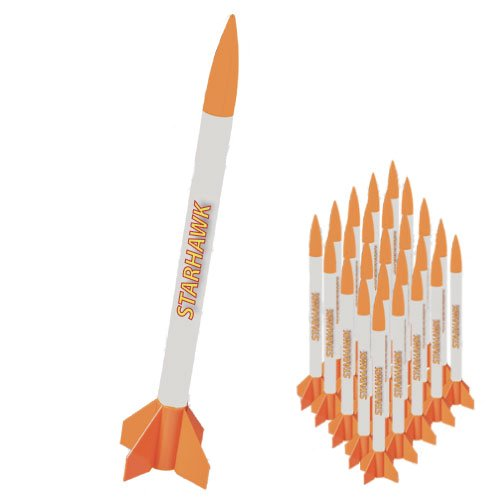 Quest Aerospace Starhawk Model Rocket Value Pack (25)
