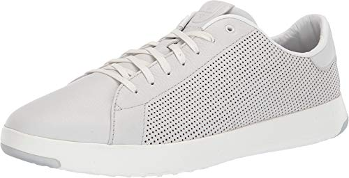 - Cole Haan Mens Grandpro Tennis Sneaker 9 Chalk Tumbled Leather