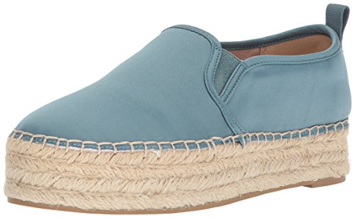 Sam Edelman Damen Carrin Espadrilles Blau (Blue Shadow Satin)
