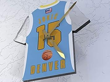 MyShirt123 NBA – de Baloncesto Equipo Jersey Reloj – Cualquier Nombre y Cualquier número – Elegir