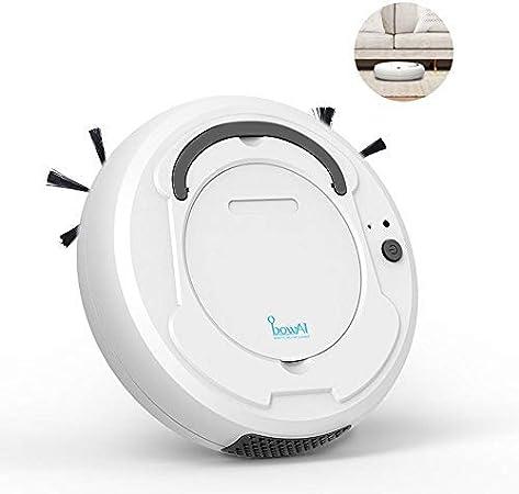 leegoal Aspirador de Robot 3 en 1, Barredora robótica Inteligente de Uso doméstico con Limpieza/succión Fuerte ...