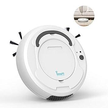leegoal Aspirador de Robot 3 en 1, Barredora robótica Inteligente de Uso doméstico con Limpieza