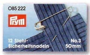 085224 Sicherheitsnadeln ST 0-3 silberfarbig