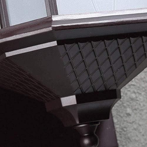 XZHKSP Wandlampe Dekorative Wandleuchte für den Außenbereich Wasserdichte Wandleuchte Gartenleuchte für Gartengartenleuchten aus Aluminiumguss