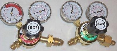 etylene or LP Cutting Welding Regulator Set CGA 510 (Harris Regulator)