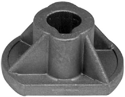 Oregon Blount 72/92/102/122 - Adaptador para cuchillas de cortacésped Castel-Garden (2 unidades)