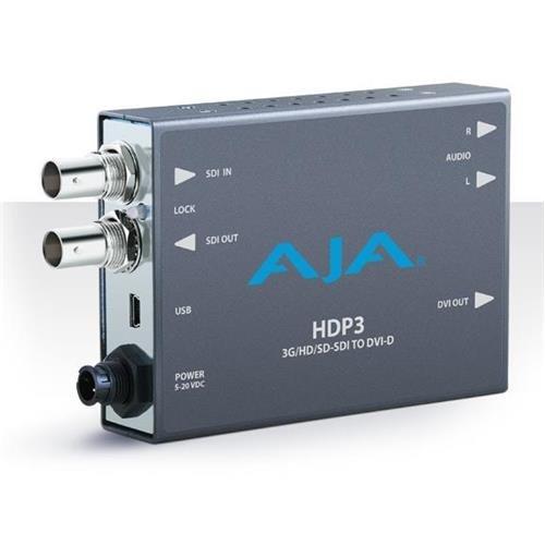Aja Sdi Converter (AJA HDP3 3G-SDI to DVI-D and Audio Converter)