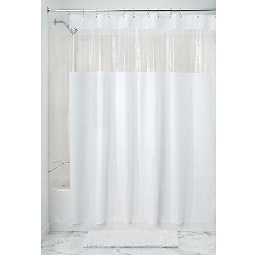 InterDesign Hitchcock PVC Free Shower Curtain