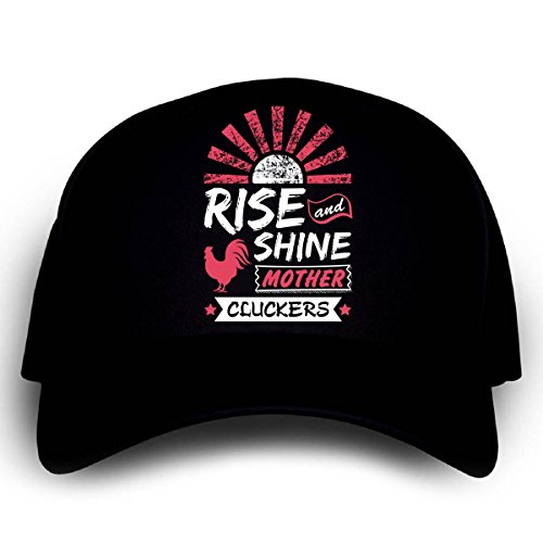 Rise And Shine Mother Cluckers A Funny Gift - Cap (The Clucker Hat)