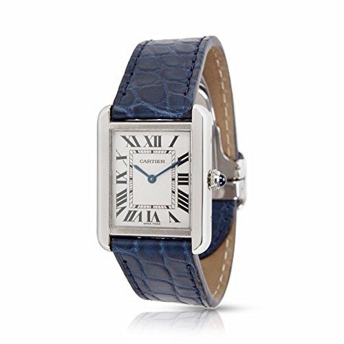 Cartier Tank Solo quartz womens Watch W1018255 (Certified Pre-owned) by Cartier