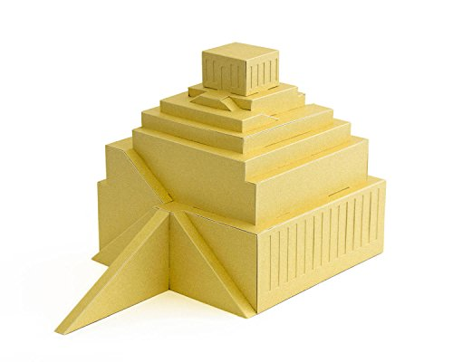 PaperLandmarks Tower of Babel Paper Model (Tower Of Babel Craft)
