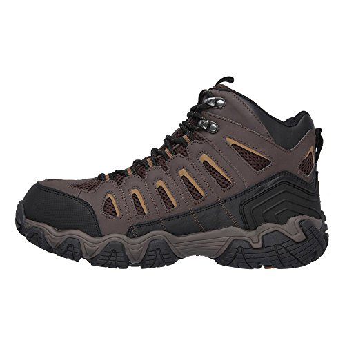 Steel 5 Work M Skechers 10 Toe Blais Men's Brown Boot US Dark Bixford 5I5Pgq