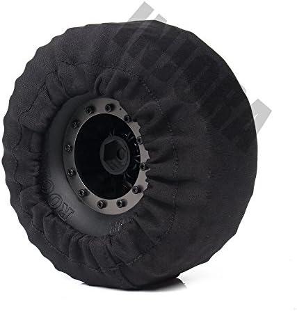 """1:10 RC Reifenabdeckung für 1.9 Crawler Wheel /""""Back Off/"""" für Traxxas"""