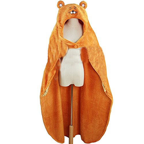 E.a@market Japanese Anime Himouto! Umaru-chan Coral Fleece Cosplay Hamster Cloak (Hamster Costume For Adults)