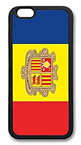 ACESR Andorra Flag Lastest iPhone 6 Case TPU Back Cover Case for Apple iPhone 6 4.7inch Black