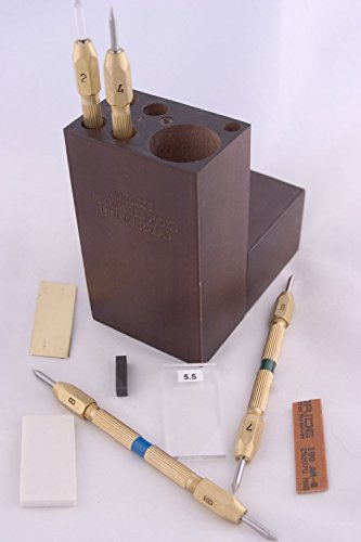 Deluxe Hardness Mineral Identification Wooden product image