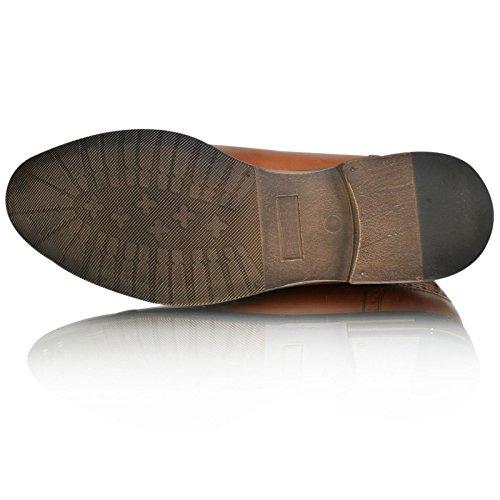 Base London, scarpe stringate da uomo, modello Woburn, Marrone (Tan Brown), 39 EU