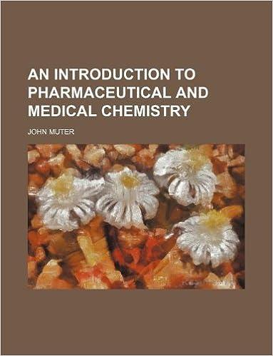Ebooks à télécharger gratuitement pdf An Introduction to pharmaceutical and medical chemistry MOBI 1130605744