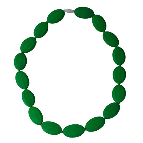 Funky Silicone Teething Necklace Wear