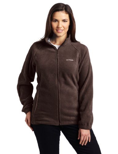 Columbia Women's Plus-Size Benton Springs Full-Zip Fleece Jacket
