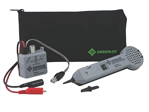 TEMPO Communications 601K-G Tone and Probe Kit - Tone Tracing Kit - Includes Tone Probe and Tone Generator (formerly Greenlee Communications)